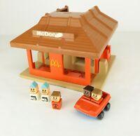 McDonald's Vintage 1974 Playskool Familiar Places Play Set Restaurant #430