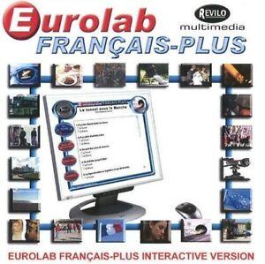 Eurolab Francais-Plus: Francais-Plus Interactive Version  New Book
