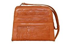 Hand-tooled purse from Ensenada, Mexico