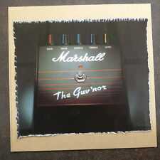 """POP-KARD feat. MARSHALL - THE GUV`NOR AD, 6x6"""" greeting card aae"""