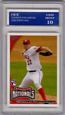 Stephen STRASBURG ROOKIE CARD Topps MLB RC Washington Nationals GEM MINT 10!