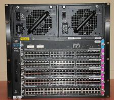 Cisco WS-C4506 PWR-C45-2800AC WS-X4515 WS-X4548-GB-RJ45V WS-X4148-RJ  6Mth Warr