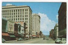 Market Street Cars Chattanooga Tennessee postcard