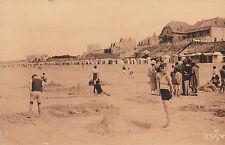 Carte Postale Ancienne  St Gilles Croix de Vie la plage
