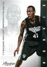 2012 13 Panini Prestige #249 Tyshawn Taylor RC Brooklyn Nets NM NBA Trading Card