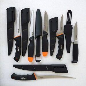 Fisch, Jagt- und Filetiermesser Messer mit Scheide Angelmesser
