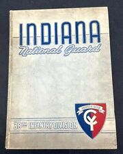 Vintage Indiana National Guard 38th Infantry Division Yearbook