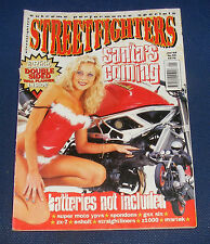 STREETFIGHTERS MAGAZINE JANUARY 1999 - BATTERIES NOT INCLUDED