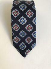 DUCHAMP 100% silk tie made in England,  Navy blue