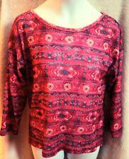 EUC Girls Pinky L 14 Pink Flower Shirt
