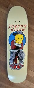 Jeremy Klein x Lance Mountain black eyed doughboy skateboard deck