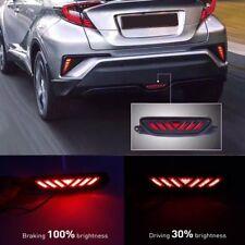 LED Rear Bumper Third 3rd Brake Light Red DRL Driving Fog Tail For Toyota C-HR