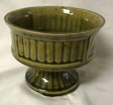 *Vintage Green Ceramic Planter/Vase