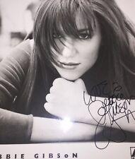 Deborah Debbie Gibson 8x10 B&W Autographed Photo Reprint 80's