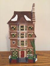 Dept 56 Dickens Village Series - Nephew Fred's Flat #55573 Retired