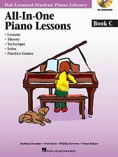 All-in-one Piano Lessons Book C with Online Audio