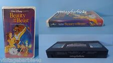 Walt Disney Beauty and the Beast 1992 Black Diamond The Classics VHS 1325