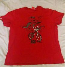 Super Puma Riding Bike Leisure T-Shirt Red Men's XL