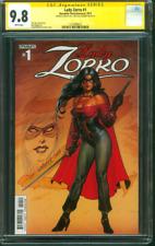 Lady Zorro 1 CGC SS 9.8 Linsner Original art Sketched Dynamite Dawn artist