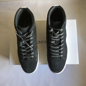 Calvin Klein Men's Frey Calf Suede High-Top Fashion Sneakers Size 7