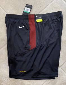 Washington Football Team Nike Issued Black Logo Shorts Mens Extra Large