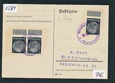 05384) DR Ostgebiete Not-Stempel Skotschau Oberschlesien