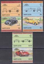 St. Lucia 1985 ** ex Mi.740/47 Automobile Autos Cars Ferrari 246 GTS [sq6260]