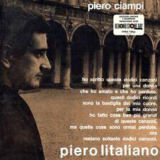 PIERO CIAMPI - PIERO L'ITALIANO - LP 180 gr VINILE BLACK NUOVO RSD 2020 NUMERATO