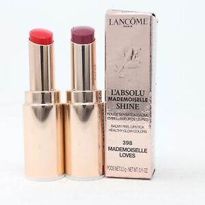Lancome L'absolu Mademoiselle Shine Lipstick  0.11oz/3.2g New With Box
