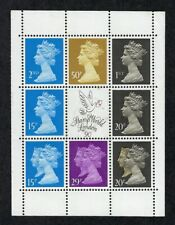 Great Britain Scott Mh196a Pane Mint Never Hinged