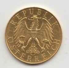 25 Schilling 1927- 1. Republik Österreich- Gold