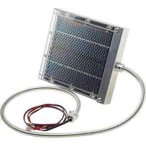 Wildgame Innovations Game Feeder 6V Solar Panel Keeps Batteries Charged SP-6V1