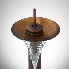 SIGNATURE HARDWARE GRAYSEN BRONZE SINGLE-HOLE- HIGH RISE- WATERFALL FAUCET