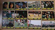 (T233) 21x Aushangfotos FLUCHT ODER SIEG 1981 Michael Caine, Sylvester Stallone,
