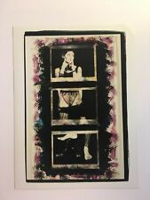 FREE SHIPPING! Vintage1990s 6x8 FEMALE TRIPTYCH COLLAGE, LGBT interest