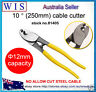 """10"""" HAND HELD ELECTRICAL CABLE CUTTERS UPTO 60mm2 WIRE ELECTRICIANS PLIERS-81405"""