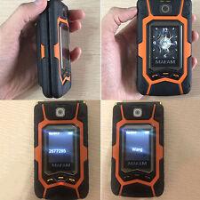 Pantalla Dual X9 Teléfono Celular con Tapa 2G Doble Sim una tecla de llamada Senior enchufe de la UE para Mafam
