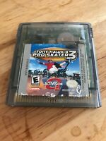 Tony Hawk's Pro Skater 3 (Nintendo Game Boy Color, 2001) With Dust Cover