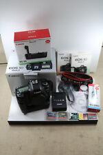 Canon EOS Rebel 5D Mk II Digital SLR 21.1 MP Camera Body BG-E6 Grip CF Card 143K