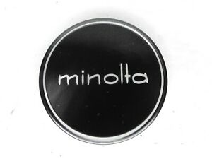 #1 Minolta 57mm Slip On Front Camera Lens Cap For 55mm Filter Ring MC / MD / SR