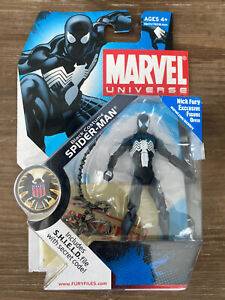 Marvel Universe Spider-Man Black Costume Series 1 #18 NIB