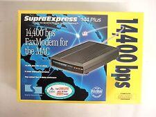 Supra SupraExpress 144 Plus 14.4 External Modem Mac