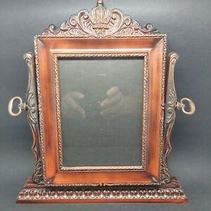 Vintage Swivel Picture Photo Frame Victorian Style 5''x 7'' Photo Velvet Back