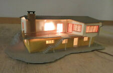 Vollmer 7716 N Gauge Bungalow At Hang Illuminated Very Nice