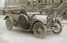 Classy 1913 car and driver, NY tag, elegant photo CHOICES 5x7 or request 8x10 or