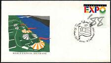 Australia 1988 Expo, Tonga Nacional día cubierta #C44028