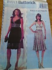 """4915 PATRON"""" BUTTERICK 2 CREATIONS ROBE CROISEE ETE  TAILLE 42 AU 48"""
