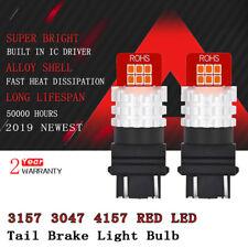 2x 3157 RED LED TAIL BRAKE LIGHT BULB FOR Chevrolet Silverado 1500 2000-2012 D4