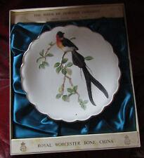 Royal Worcester Dorothy Doughty Birds Ltd Edition Plate  Paradise Wydah 1977
