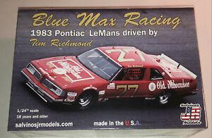 Tim Richmond 1983 Pontiac LeMans Old Milwaukee #27 1:24 stock car model kit